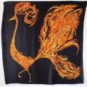 Foulard carré en soie 120cm