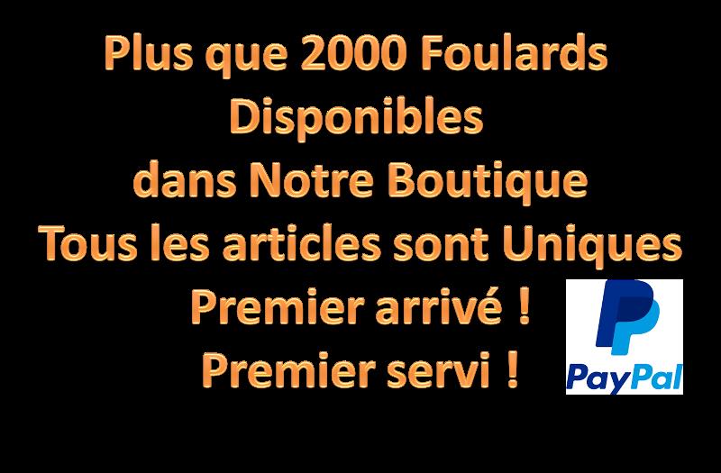2000 Foulards